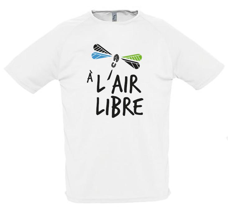 T shirt a l air libre